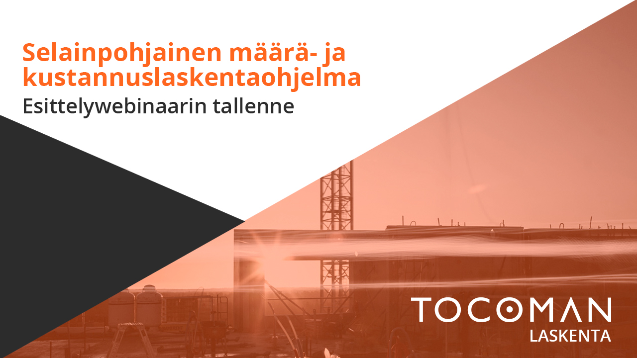 Tocoman Laskenta esittelywebinaari